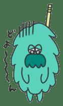 Mossan of mop Japanese version sticker #334021