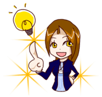 Daily lives of working woman Etsuko sticker #334065