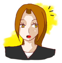 Daily lives of working woman Etsuko sticker #334095