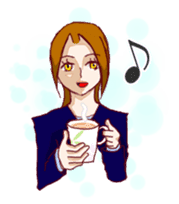 Daily lives of working woman Etsuko sticker #334098