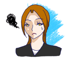 Daily lives of working woman Etsuko sticker #334099