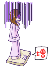 Daily lives of working woman Etsuko sticker #334100