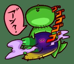 Gon & Mukigon -Funny cute chara sticker #334351