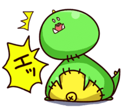 Gon & Mukigon -Funny cute chara sticker #334356
