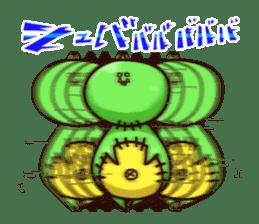 Gon & Mukigon -Funny cute chara sticker #334362