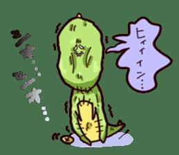Gon & Mukigon -Funny cute chara sticker #334367