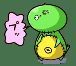 Gon & Mukigon -Funny cute chara sticker #334369