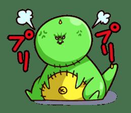 Gon & Mukigon -Funny cute chara sticker #334370