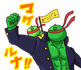 Gon & Mukigon -Funny cute chara sticker #334372