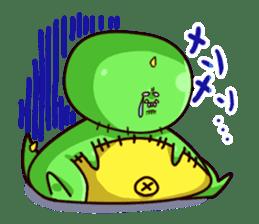 Gon & Mukigon -Funny cute chara sticker #334374