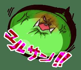 Gon & Mukigon -Funny cute chara sticker #334377