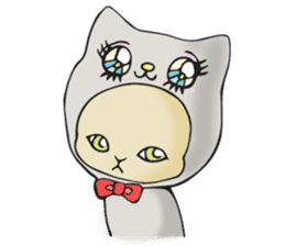 Necoco cat sticker #334388