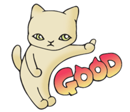 Necoco cat sticker #334399