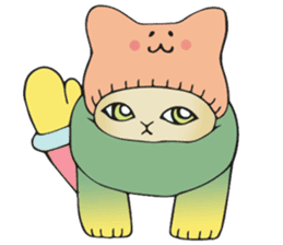 Necoco cat sticker #334402