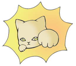 Necoco cat sticker #334406