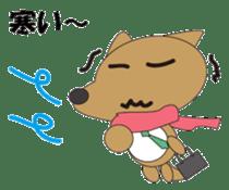 The salaried dog sticker #334644