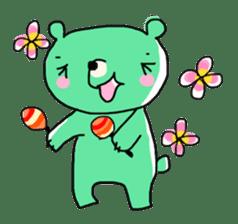Kumawasakun sticker #334799