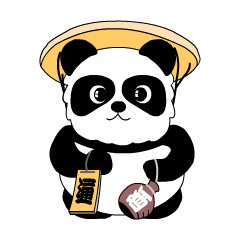 Pandanuki Sticker