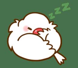 Chubby java sparrow sticker #335190