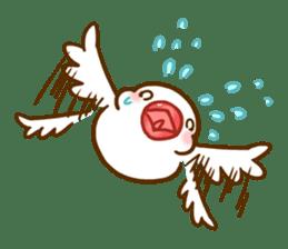 Chubby java sparrow sticker #335198