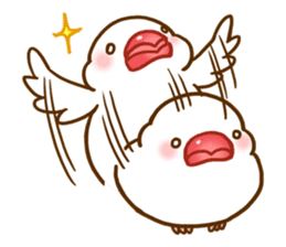 Chubby java sparrow sticker #335200