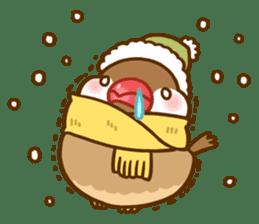 Chubby java sparrow sticker #335202