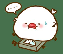 Chubby java sparrow sticker #335218