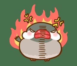 Chubby java sparrow sticker #335220