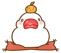 Chubby java sparrow sticker #335223