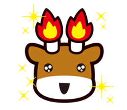 Merugyukun and Merumomochan sticker #335311