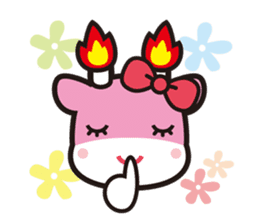 Merugyukun and Merumomochan sticker #335315
