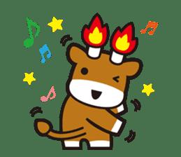 Merugyukun and Merumomochan sticker #335328