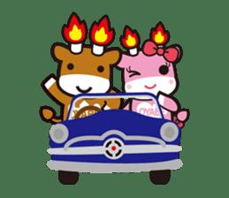 Merugyukun and Merumomochan sticker #335340