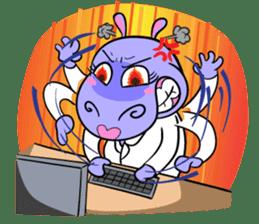 Tina : My naughty hippo sticker #335757
