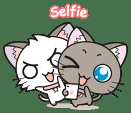 Hoshi & Luna Diary sticker #336009