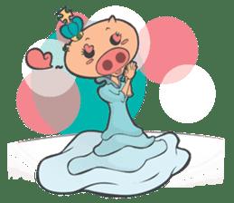 Hero Panda and Princess Pig sticker #336107
