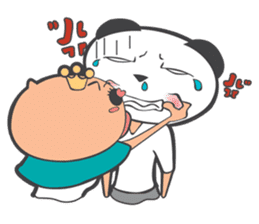 Hero Panda and Princess Pig sticker #336113