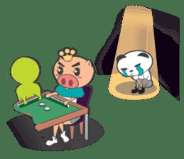 Hero Panda and Princess Pig sticker #336118