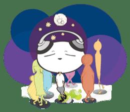 Hero Panda and Princess Pig sticker #336127