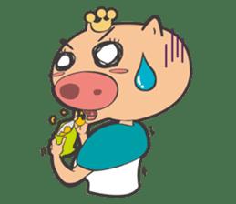 Hero Panda and Princess Pig sticker #336132