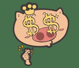 Hero Panda and Princess Pig sticker #336138