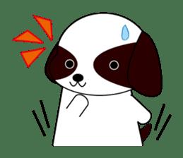 Shih Tzu dog Seachan sticker #336323