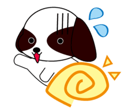 Shih Tzu dog Seachan sticker #336324