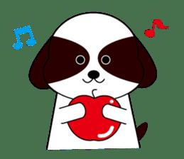 Shih Tzu dog Seachan sticker #336330
