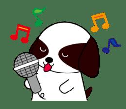 Shih Tzu dog Seachan sticker #336333