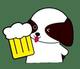 Shih Tzu dog Seachan sticker #336338