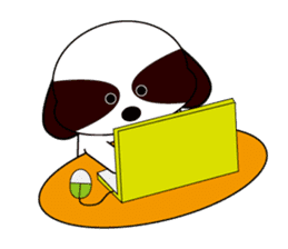 Shih Tzu dog Seachan sticker #336342