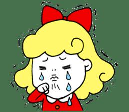 Ribbon-chan sticker #336346