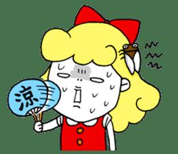 Ribbon-chan sticker #336381