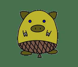tonguri sticker #338025
